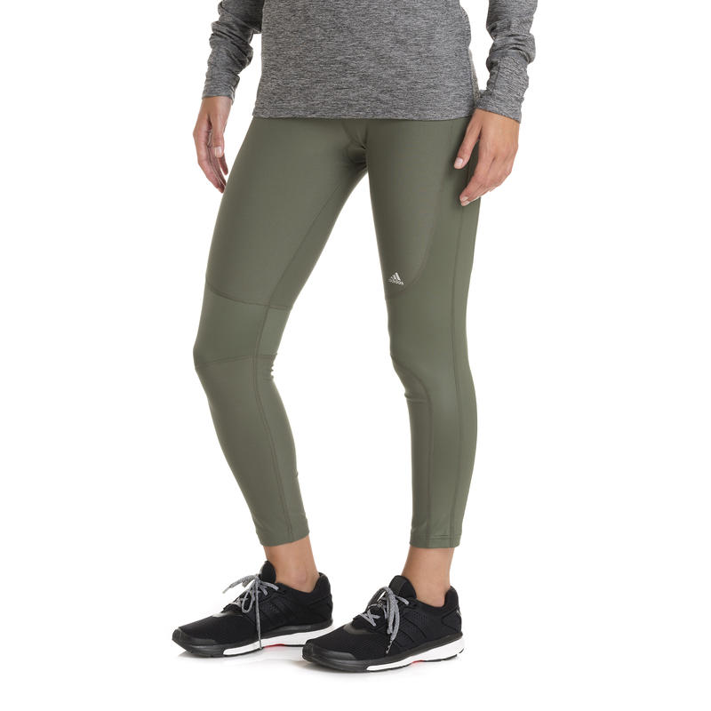 Twist Shine 7/8 Tights Base Green/Matte Silver