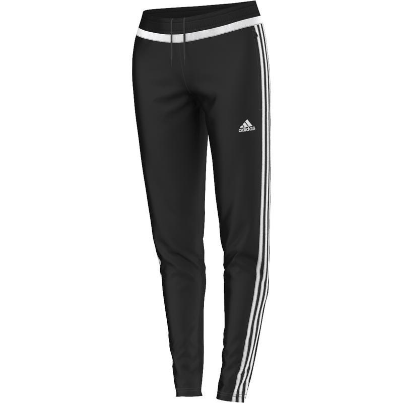 Tiro 15 Training Pant Black/White