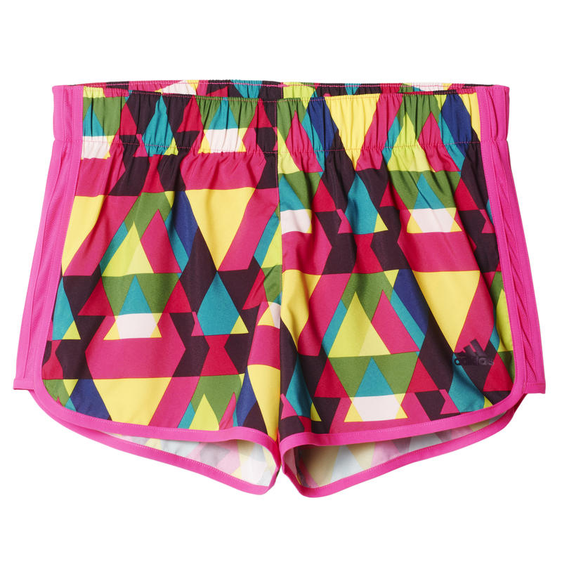 Marathon 10 Graphic Shorts Shock Pink/Mineral Red