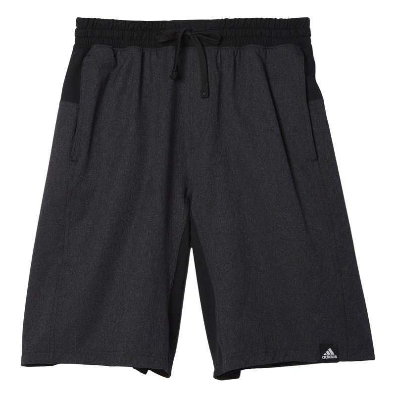 Short S1 Woven Noir/Gris