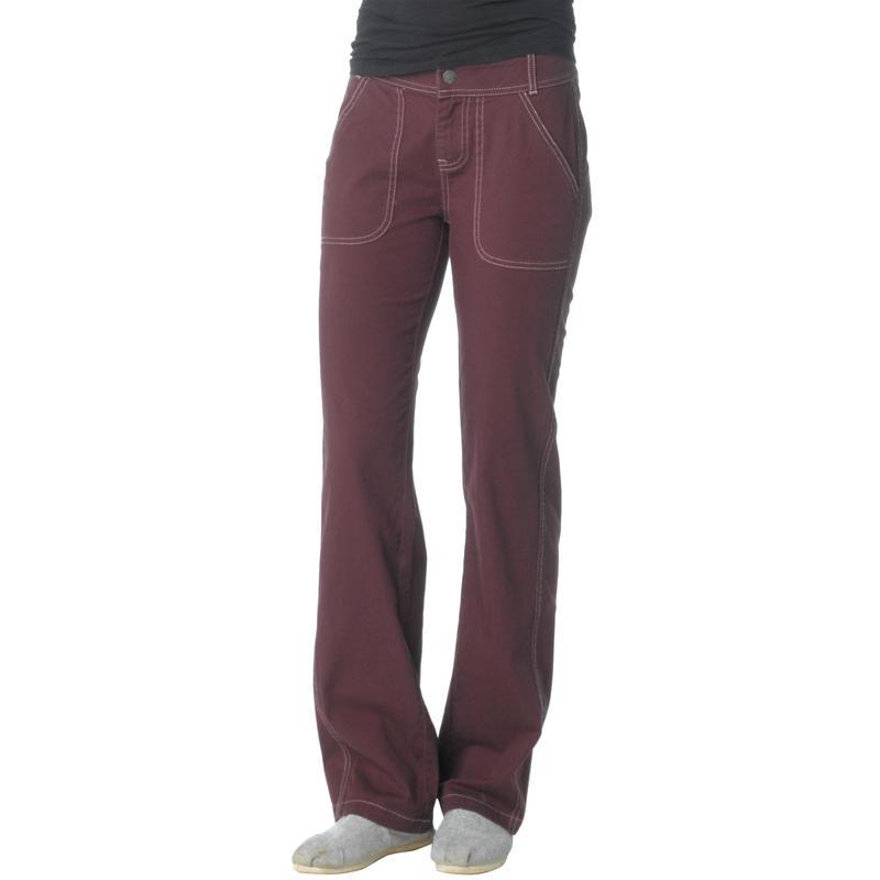 Pantalon Evie Acajou