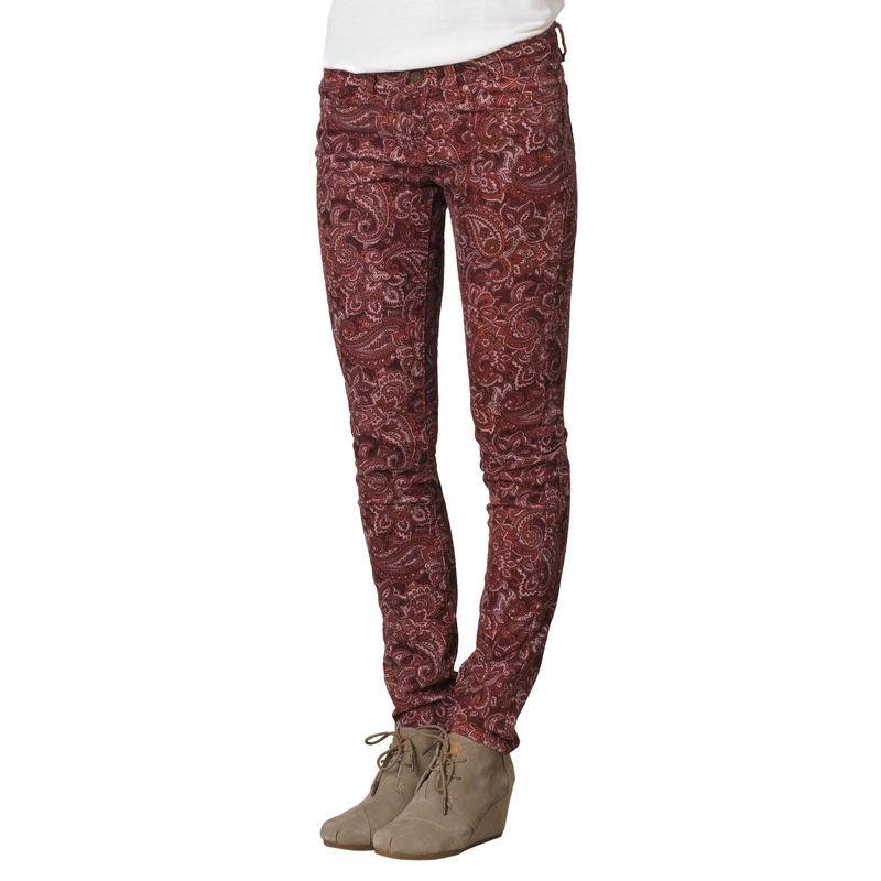 Pantalon Trinity Cachemire rhubarbe