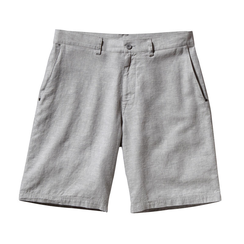 Back Step Shorts Chambray/Feather Grey