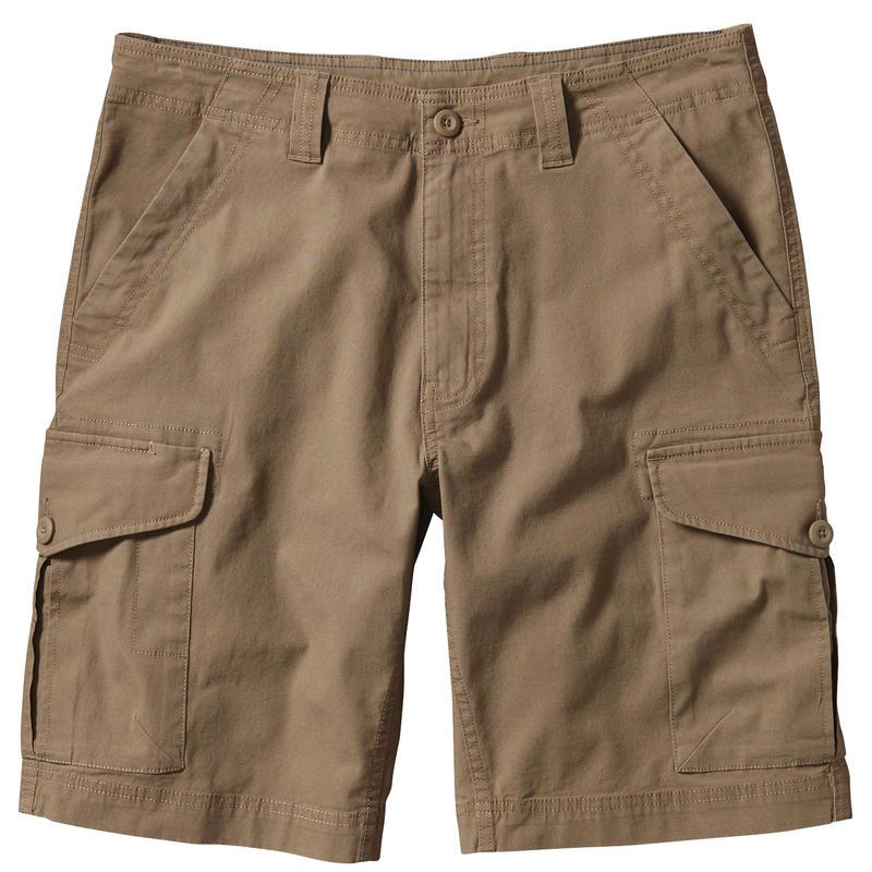 Short All-Wear Cargo Havane cendré