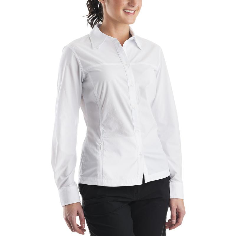 Magnolia Long-Sleeved Shirt White