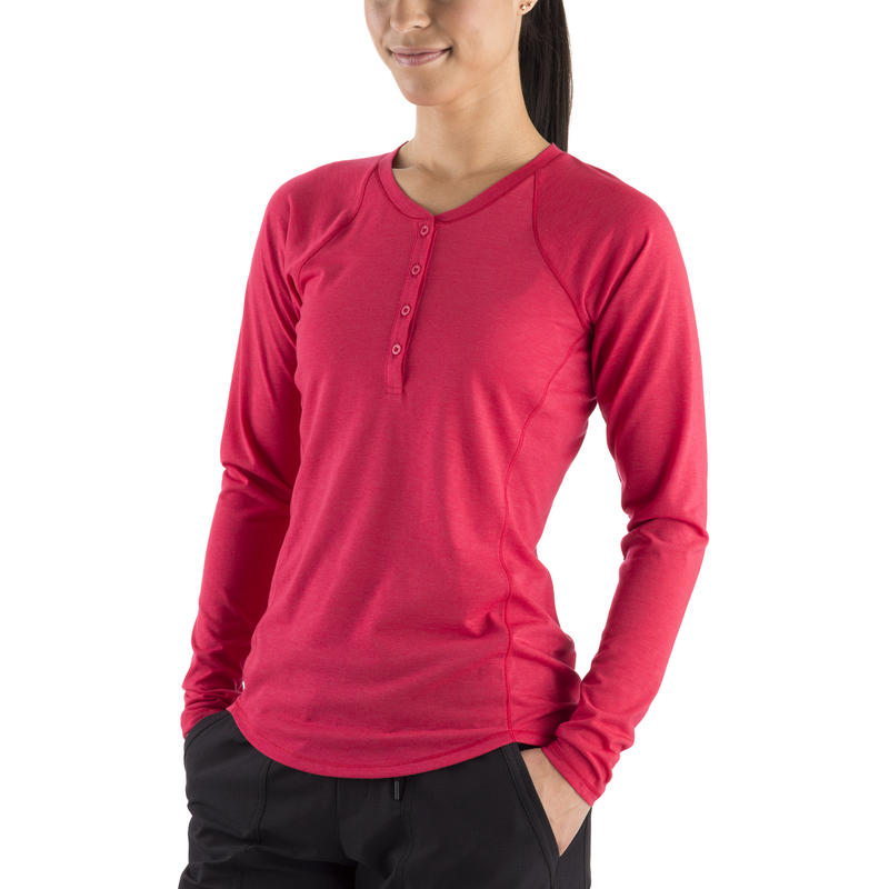 Sweetgrass Long Sleeve Top Rouge