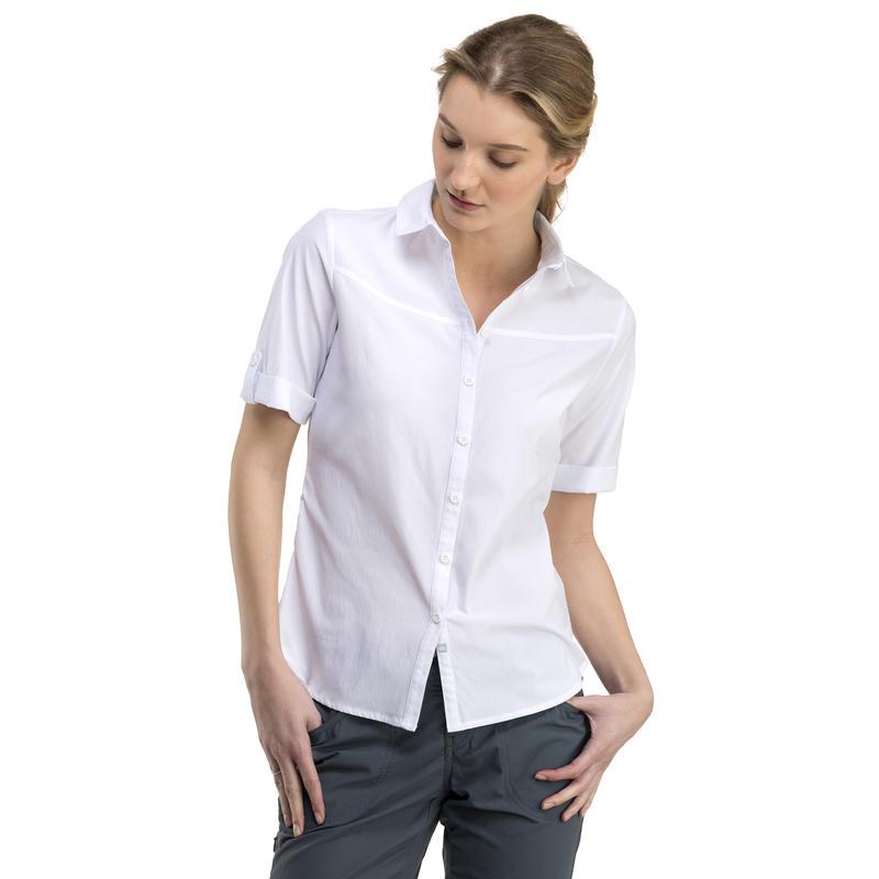 Dahlia Short-Sleeved Shirt White