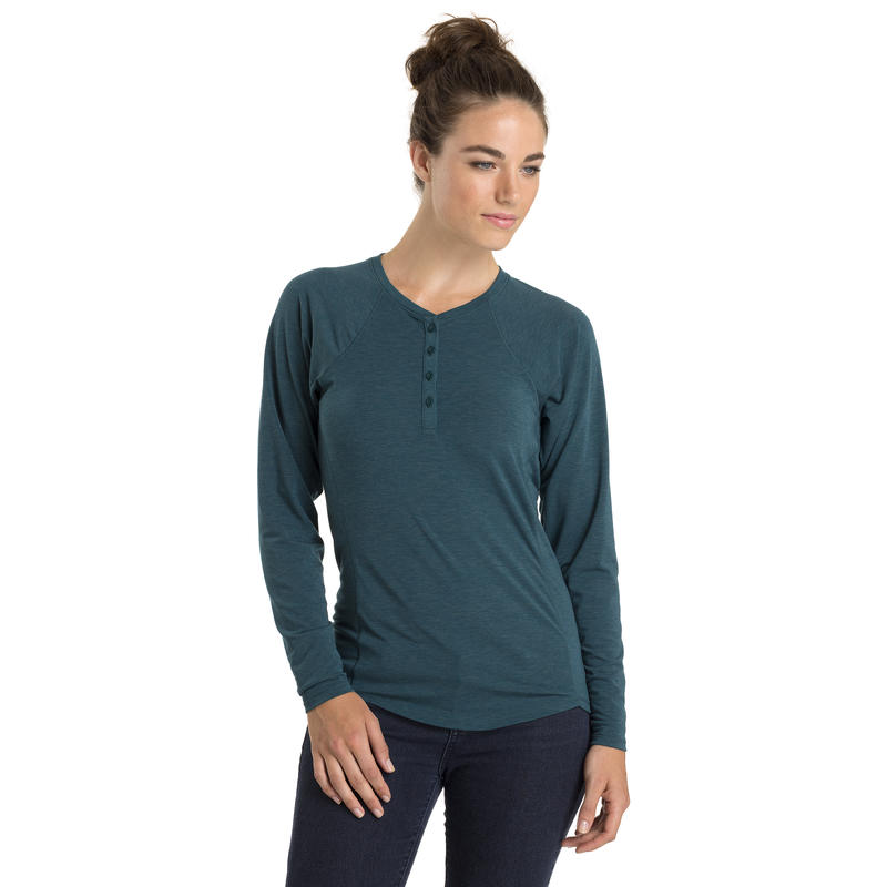Sweetgrass Long-Sleeved Top Deep Teal