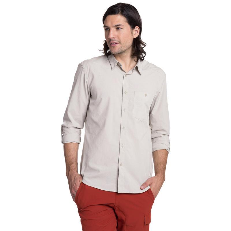 Overlook Long Sleeved Shirt Pebble Chambray