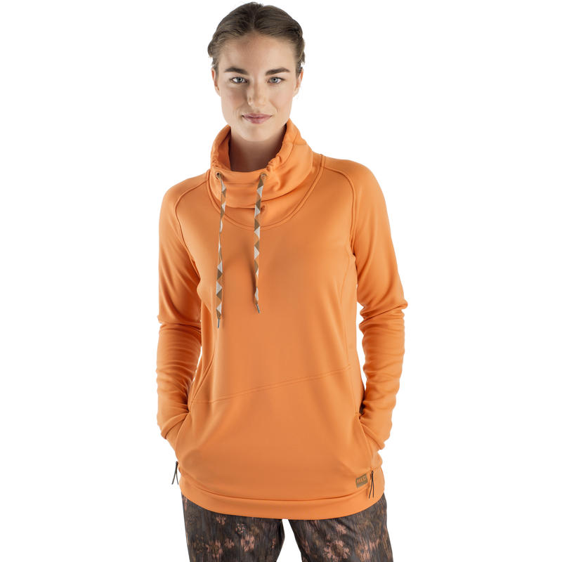 Snow Drift Pullover Dusty Orange
