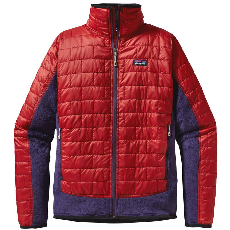 Nano Puff Hybrid Jacket Cochineal Red