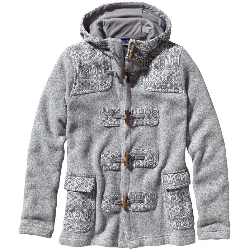 Manteau Better Sweater Icelandic Île de Skye/Blanc