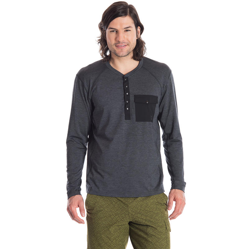 Outflow Sweater Black Heather