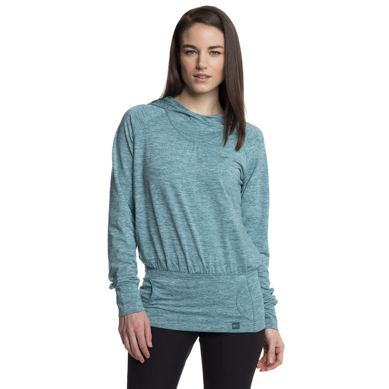 Outflow Crew Sweater Cool Mint Heather