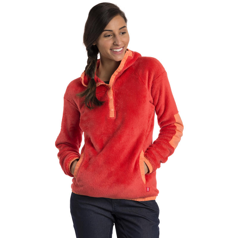 Campfire Hoodie Red Huckleberry