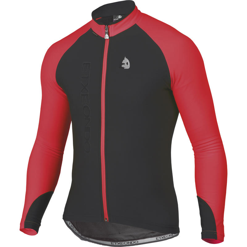 Manten LS Jersey Red/Black