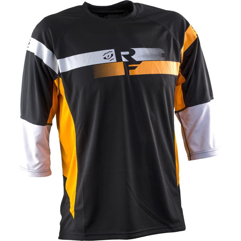 Indy 3/4 Sleeve Jersey Orange