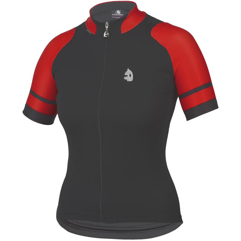 Konbina SS Jersey Black/Red