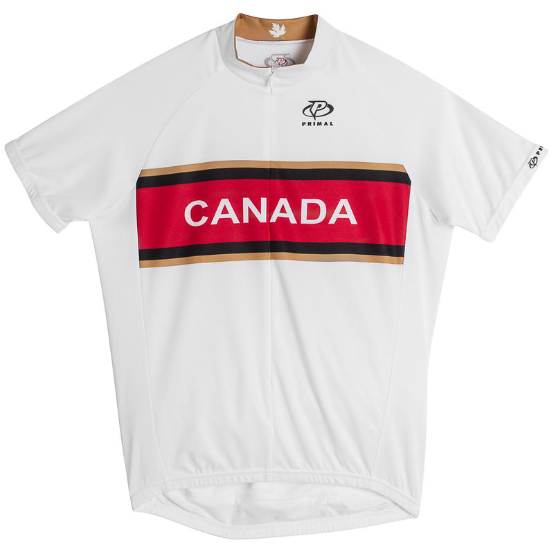 Canada SS Jersey White/Red
