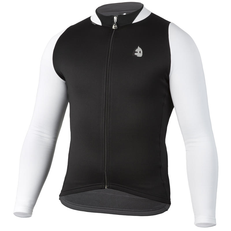 Manten Sport LS Jersey Black/White