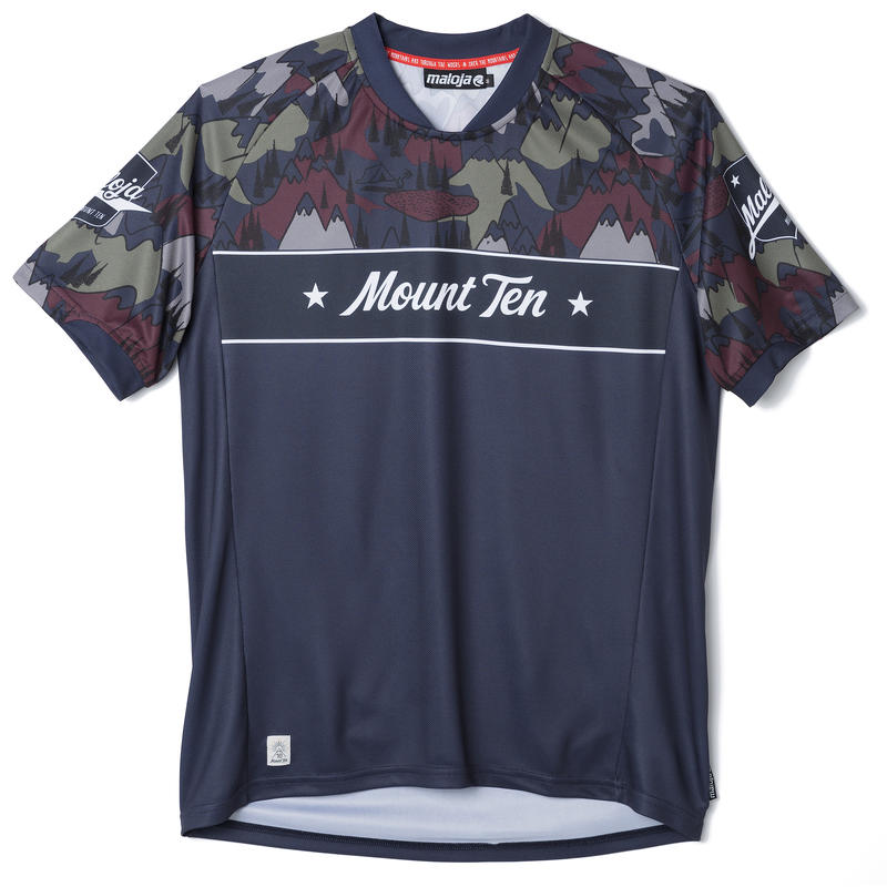 Mount Ten M. Short-Sleeved Jersey Nightfall