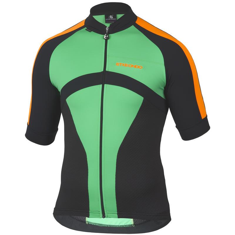 Oin Short Sleeve Jersey Green/Orange
