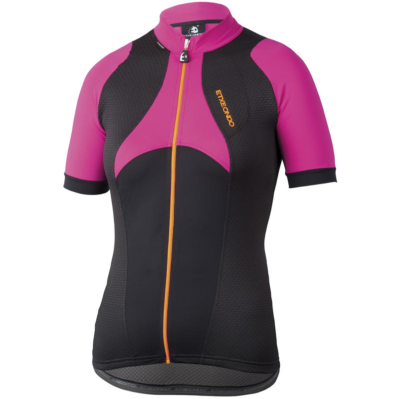 Oina Short Sleeve Jersey Black/Pink