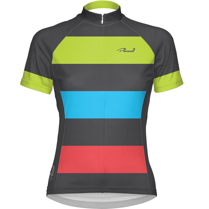 Bold Short Sleeve Jersey Multicolor Stripe