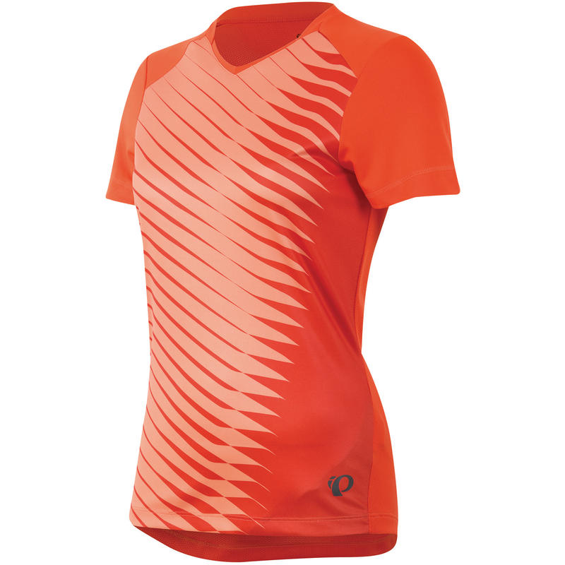 Launch Short Sleeved Jersey Mandarin Red