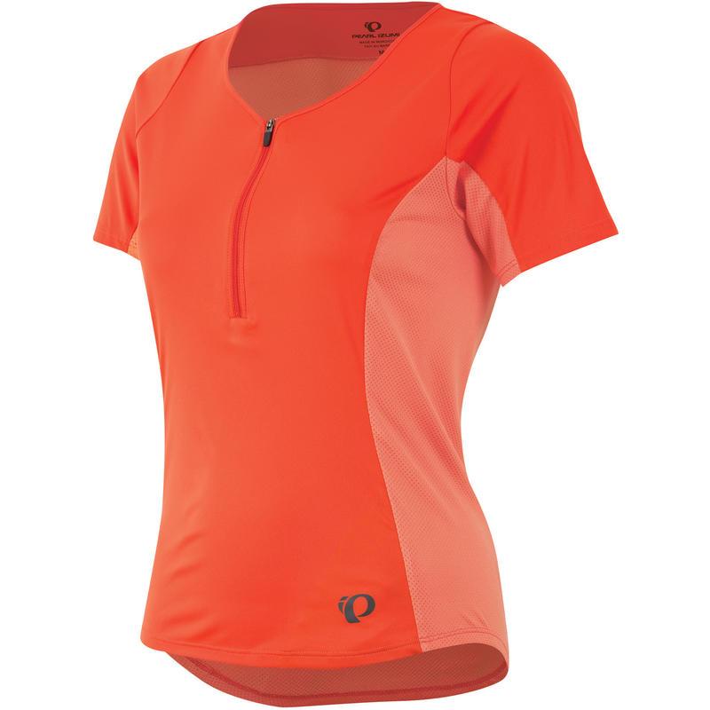 Canyon Short Sleeved Jersey Mandarin Red