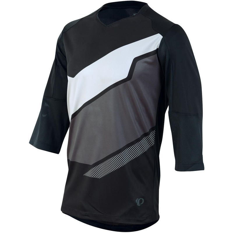 Launch 3/4 Sleeved Jersey Black