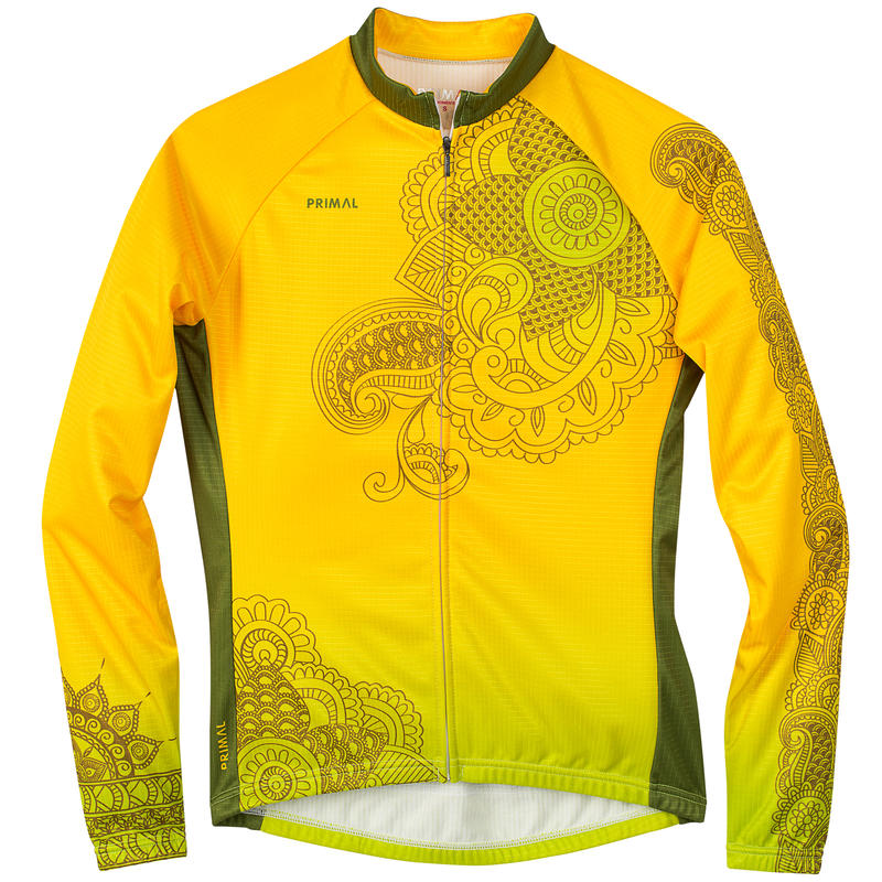 Kashmir LS Winter Jersey Yellow