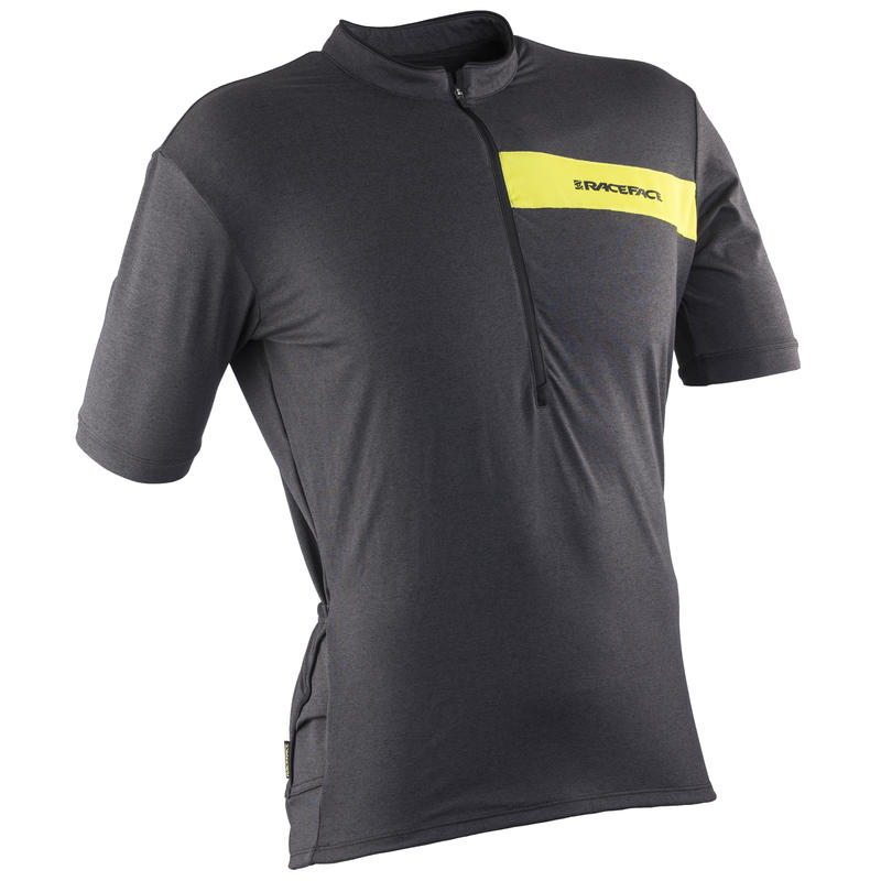 Podium SS Jersey Charcoal Heather/Sulphur