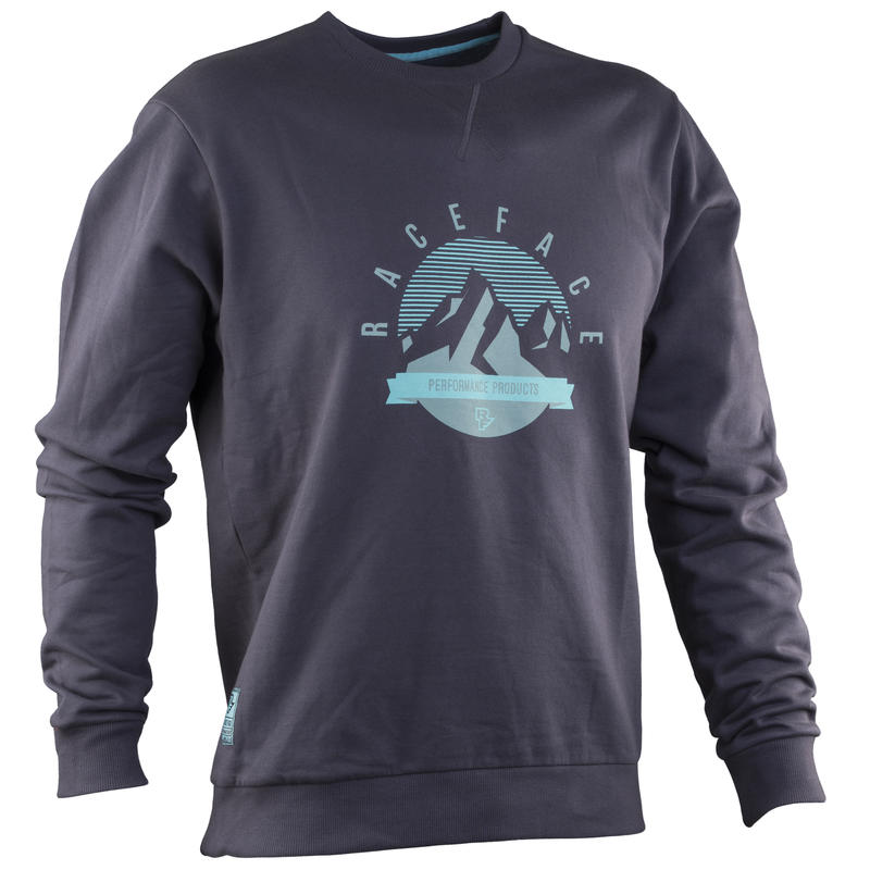 Cru Pullover Sweatshirt Grey Mountain