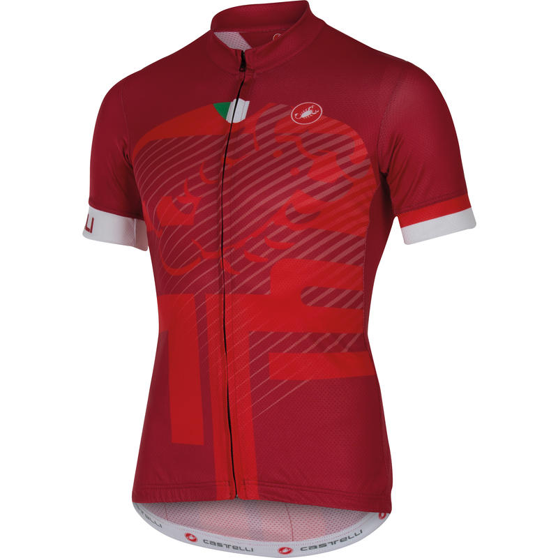 Veleno SS Jersey FZ Ruby Red