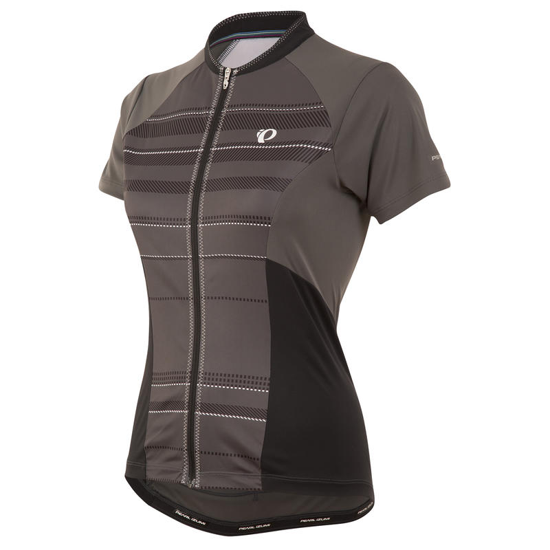 Elite Escape SS Jersey Shadow Grey Stripe