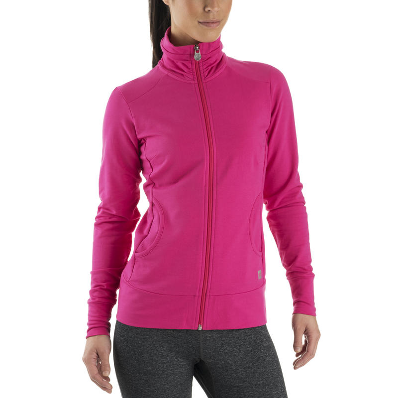 Shasta Long-Sleeved Sweater Pink Punch