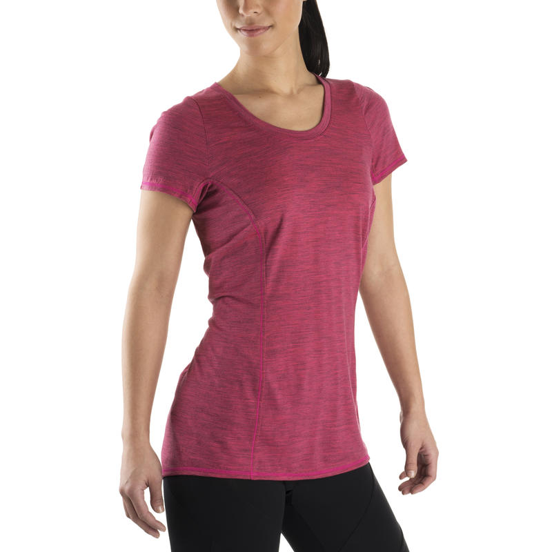 Nephele Short-Sleeved Tee Pink Punch
