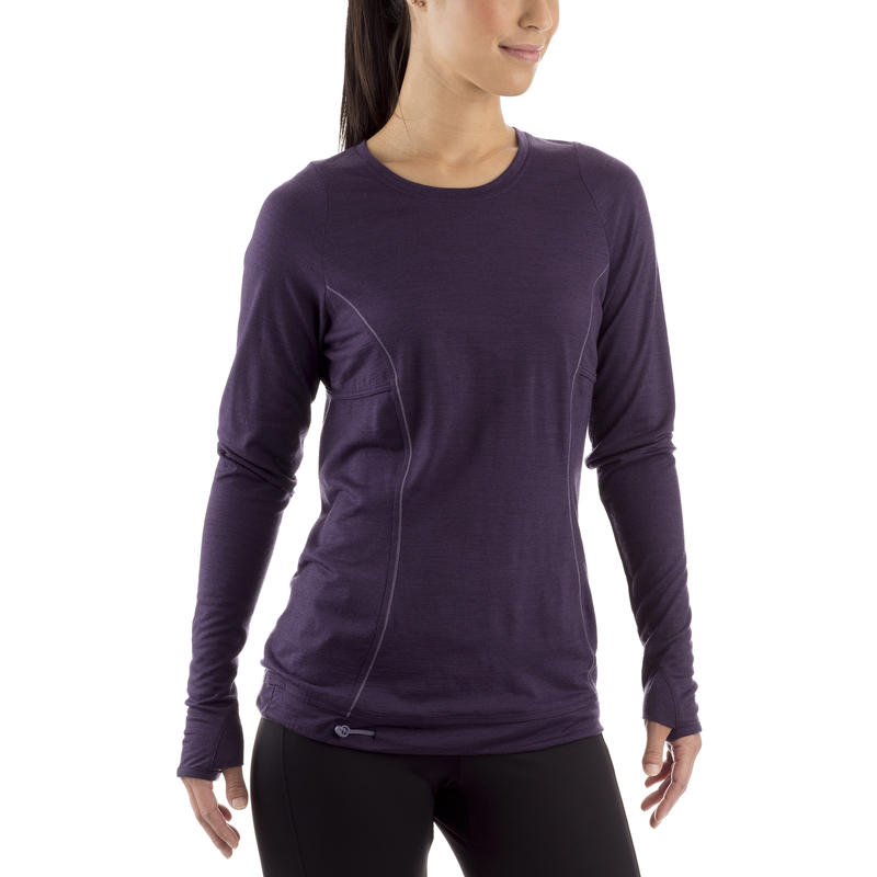 Nephele Long-Sleeved Tee Purple Velvet
