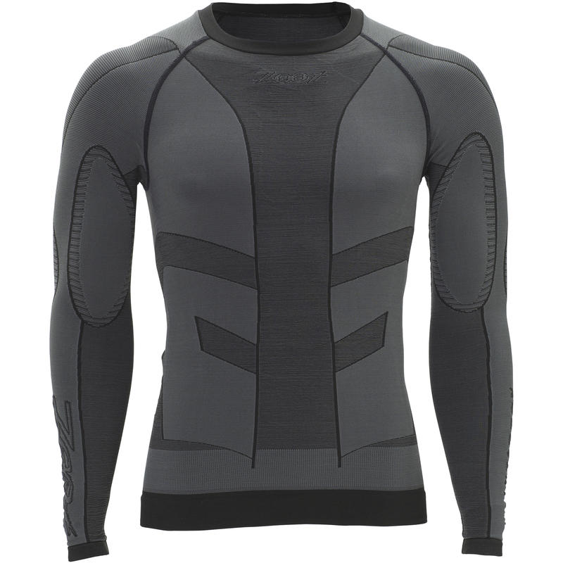 Recovery 2.0 CRx Long Sleeve Top Graphite/Black