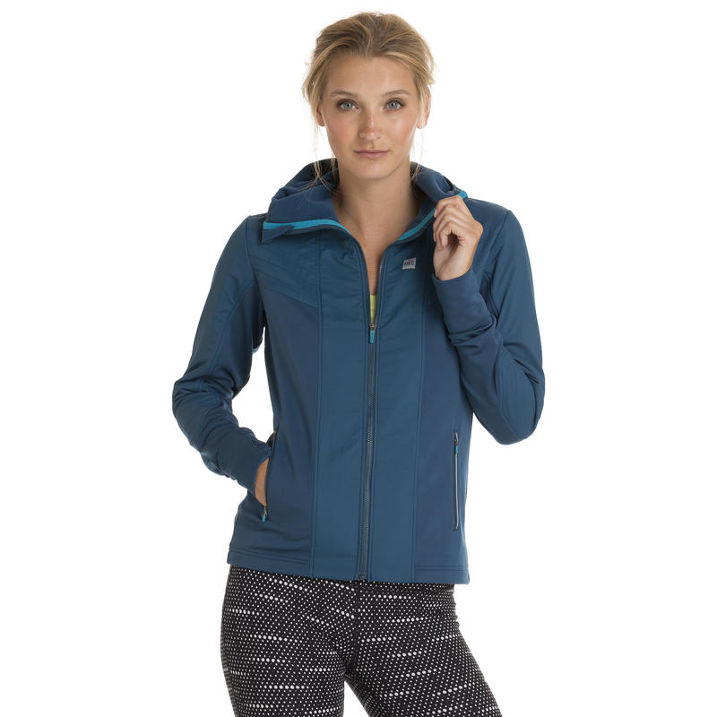 Manteau de course Nitro Thermal Bleu marine