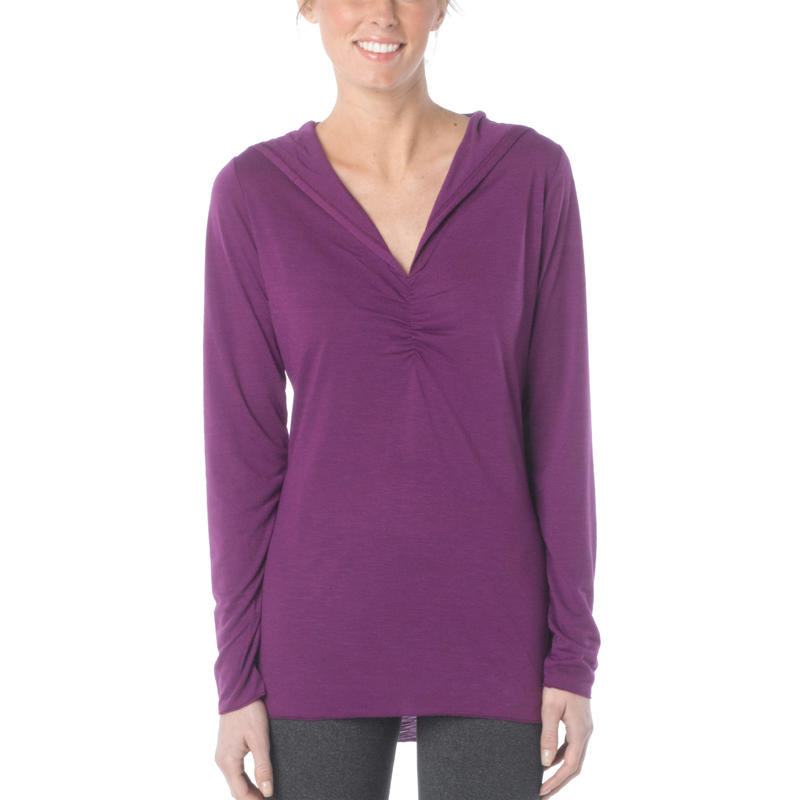 Perry Pullover Top Red Violet