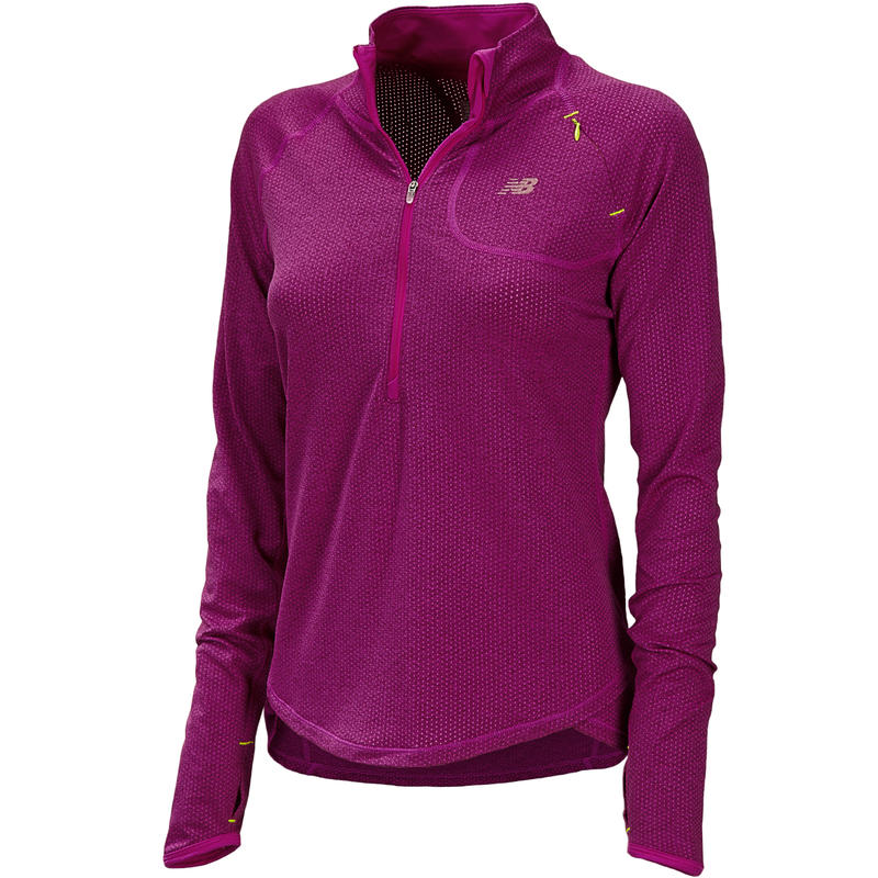 Boylston 1/2 Zip Top Poisonberry