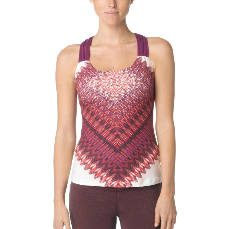 Phoebe Top Plum Red Quito
