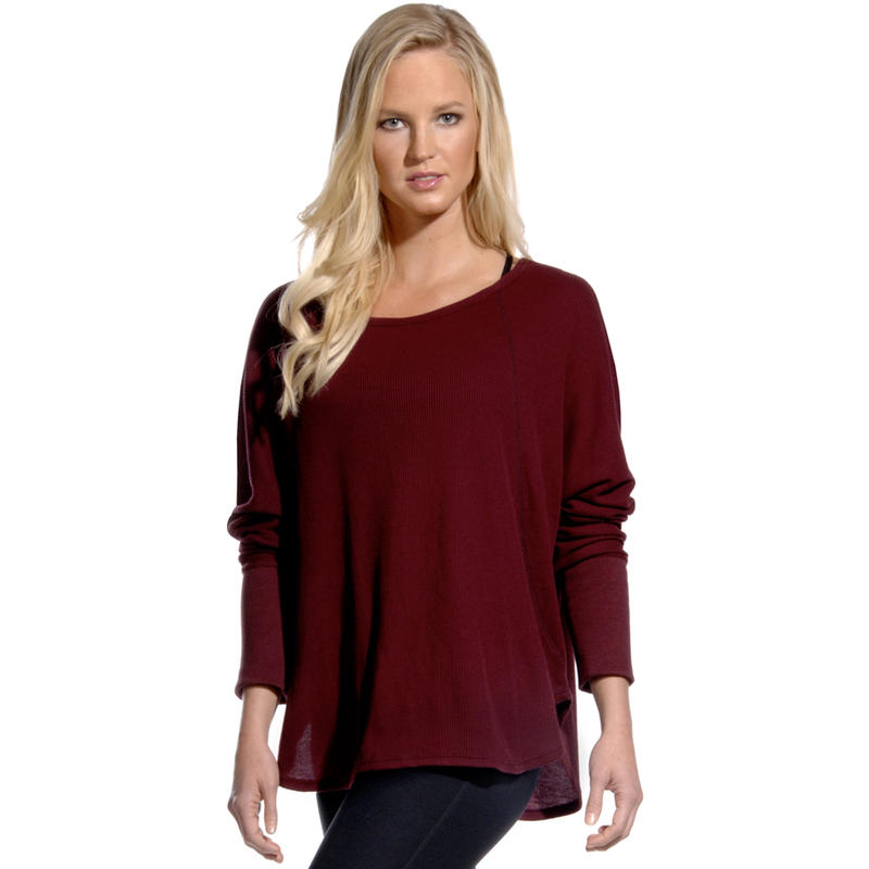 Composure Long Sleeve Cover Up Zinfandel