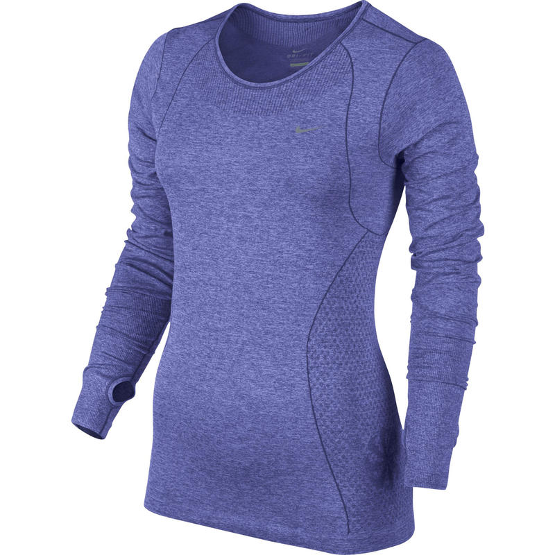 Dri Fit Knit Long Sleeve Purple Haze/Heather