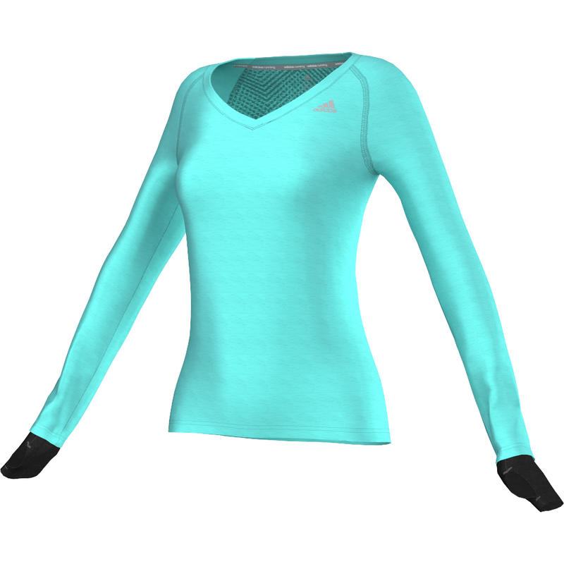 Supernova Long Sleeve Tee Vivid Mint