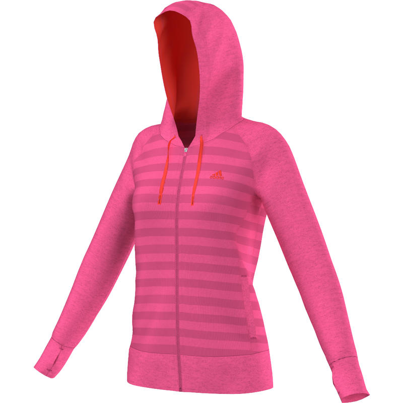 Ultimate Full Zip Hoody Neon Pink/Infrared