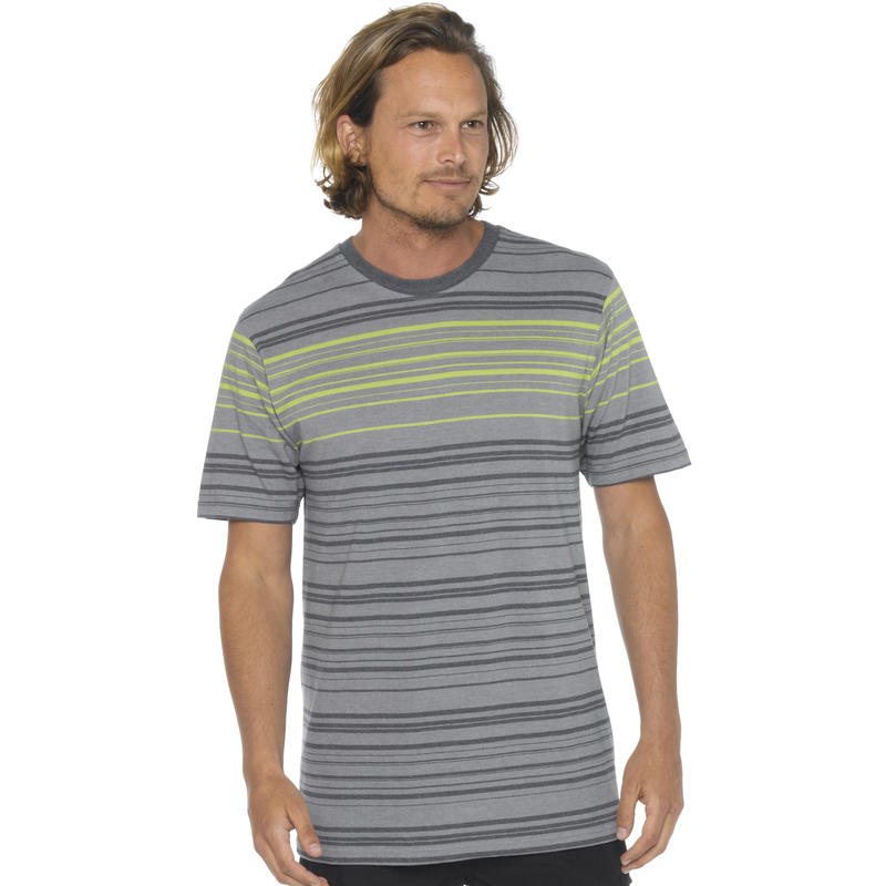 Throttle Short Sleeve Crew Gravel