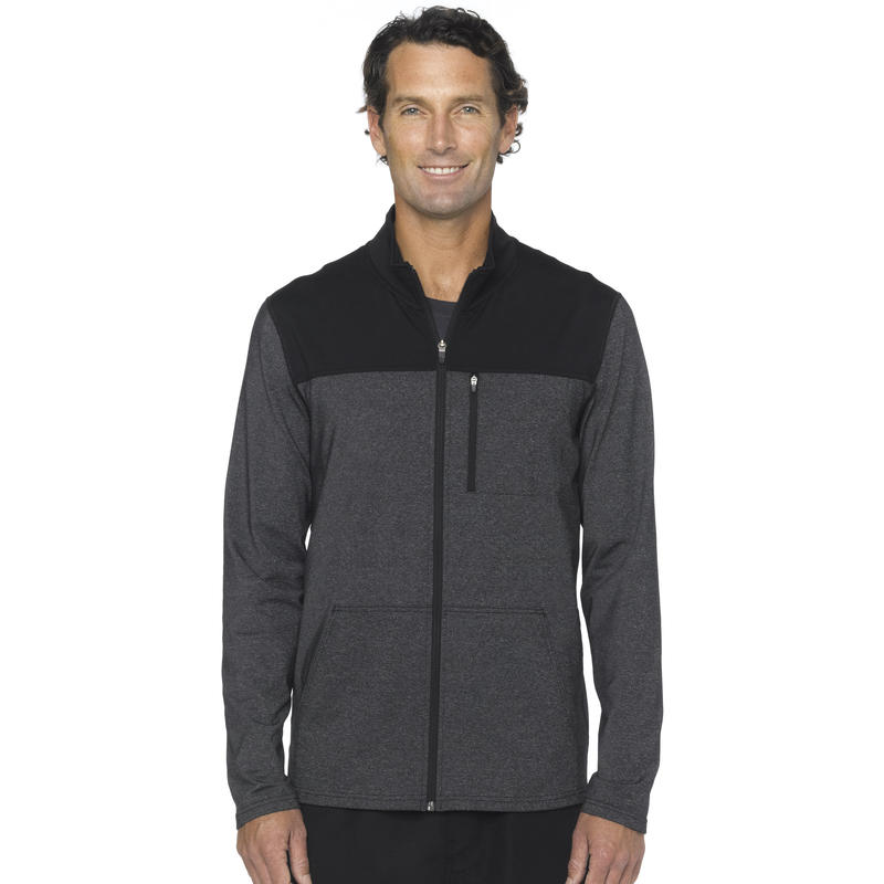 Variable Full Zip Jacket Charcoal Heather